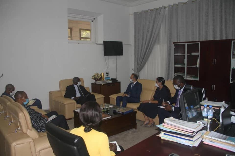 Les enjeux de la réforme des Nations Unies présentés au Ministre des Affaires Etrangères et des Guinéens de l'Etranger