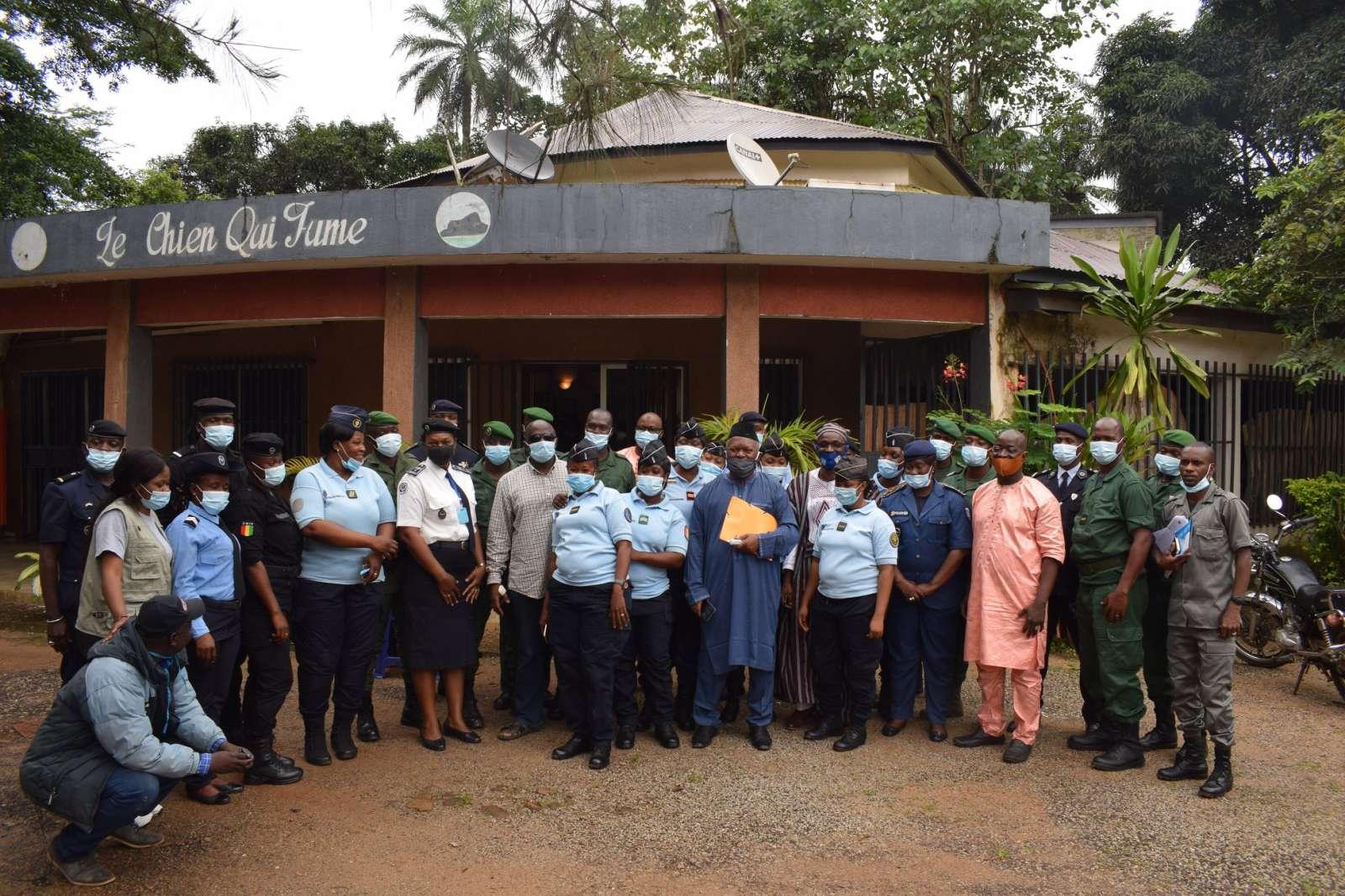 Formation des agents des forces de défense et de sécurité (FDS) de la ville de Conakry