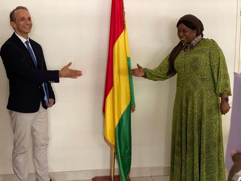 Visite de Courtoise du Coordonnateur résident du Système des nations unies, Dr Vincent Martin, auprès de la ministre de la Coopération et de l'intégration Africaine, Dr Diene Keita