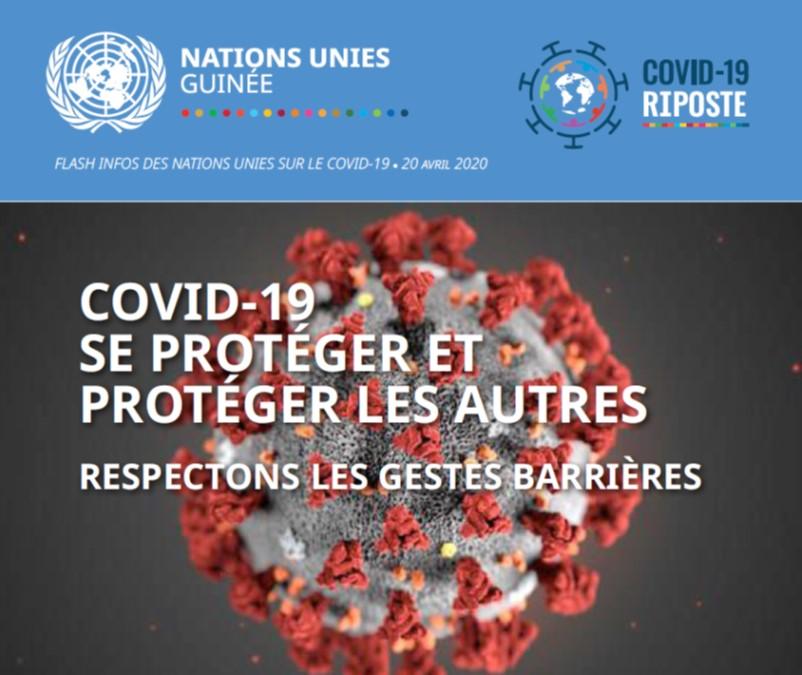 Rapport Flash des Nations unies sur le Covid-19 ● 20 avril 2020