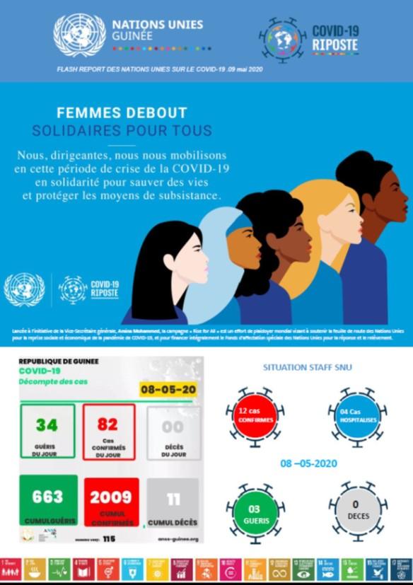 Rapport Flash des Nations unies sur le Covid-19 ● 09 mai 2020