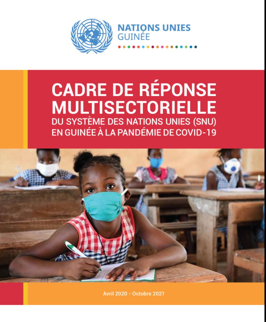 Cadre de réponse multisectorielle du système des Nations unies (SNU) en Guinée à la pandémie de Covid-19
