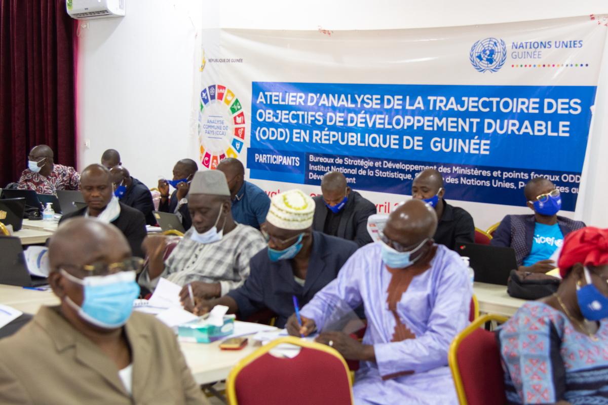 Le Système des Nations Unies et ses partenaires analysent la trajectoire des Objectifs de Développement Durable (ODDs) en Guinée