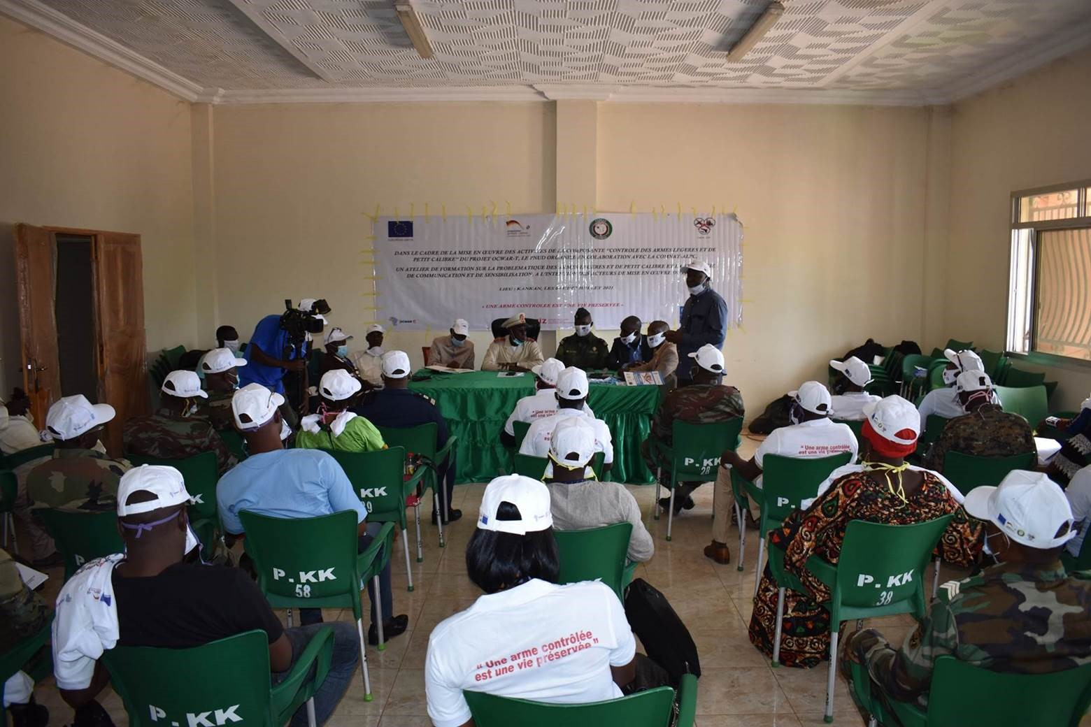 Le PNUD et la ComNat-ALPC appuient la formation des acteurs locaux de Madiana,  Siguiri et Kankan sur la problématique de la circulation des armes légères et petits calibres(ALPC) en Haute Guinée